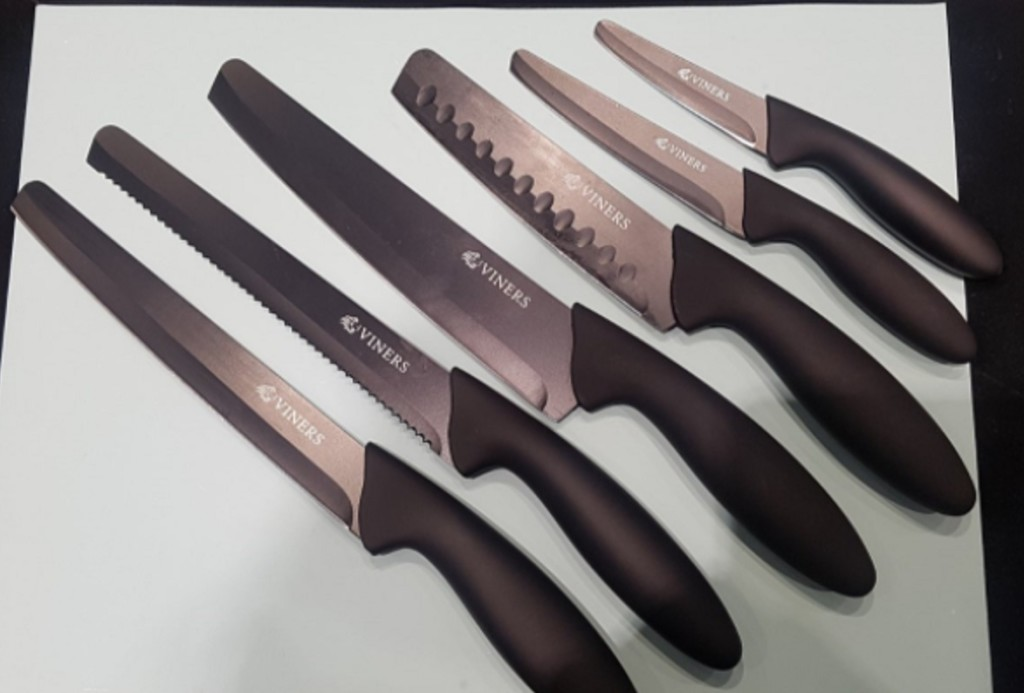 Above: Viners' Assure range of rounded-tip knives (from The Rayware Group).
