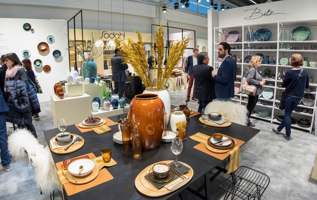 Above: Ambiente's visitors can look forward to seeing new Dining products in April. Image from Ambiente 2020.