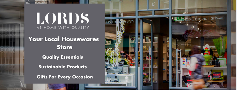 Above: Lords at Home's Facebook page emphasises the retailer's community focus stating that it is where 'local shopping for everyday housewares is anything but ordinary.'