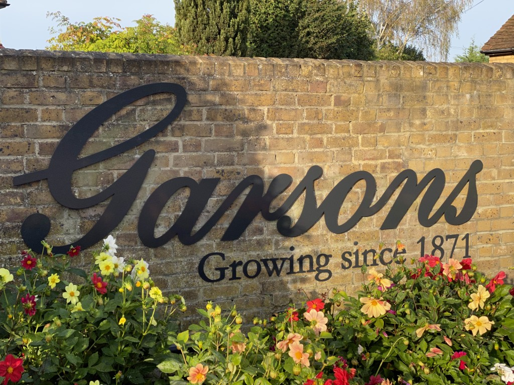 Above: Blooming good – Garsons is among the Best Garden Centre finalists.