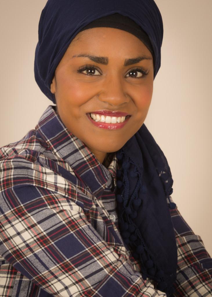 Above: The wonderful Nadiya Hussain.