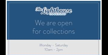 Above: A Facebook notice from The Lighthouse Cookshop, Ringwood – one of the many cookshops serving customers via click and collect.