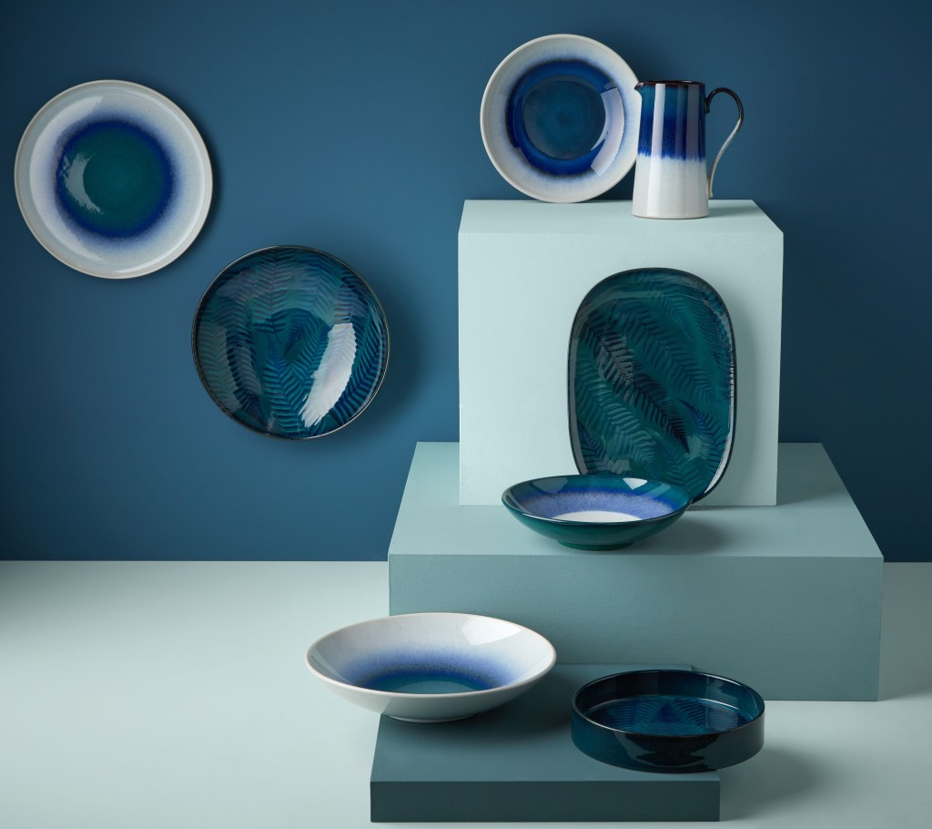 Above: Denby's Statements collection.