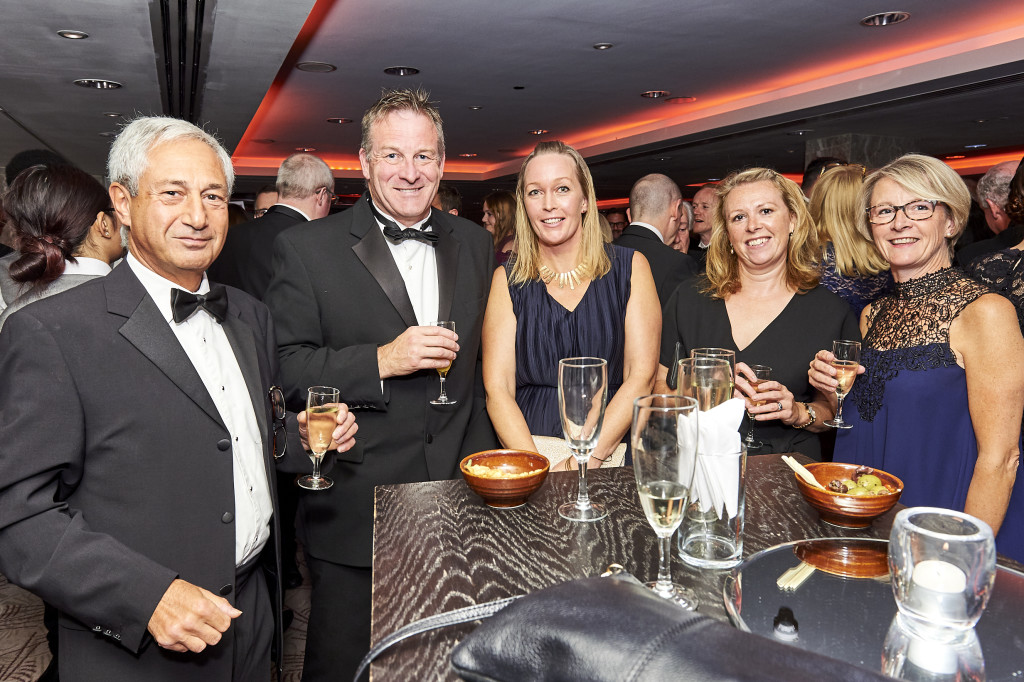 Above: Order in the bubbly – this year's event will provide a platform to raise a glass with industry friends! Guests from Ocado, T&G and Dexam pictured at last year's EIH Awards.