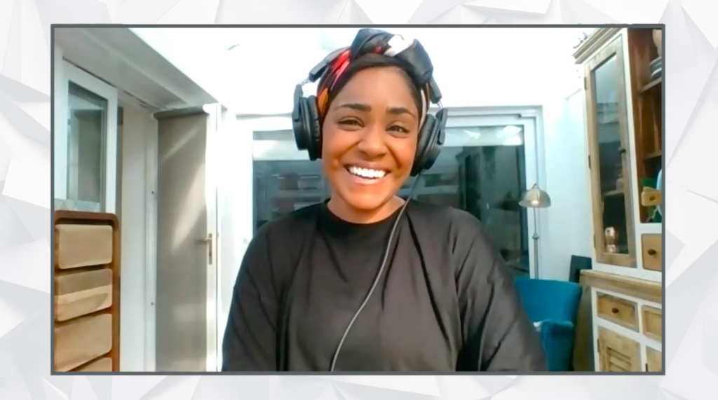 Above: Nadiya Hussain gave an exclusive interview at the Excellence in Housewares Awards 2020.
