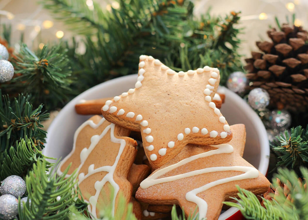 Above: Home baking is booming – image from a recent Christmas Gift blog from Harts of Stur.