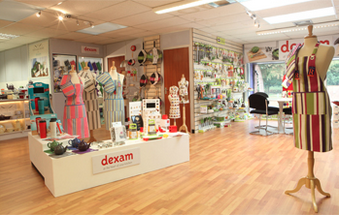 Above: View of Dexam's hq showroom.