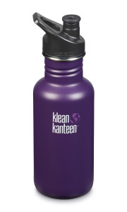 Above: All pupils were given their own Klean Kanteen Classic bottle.