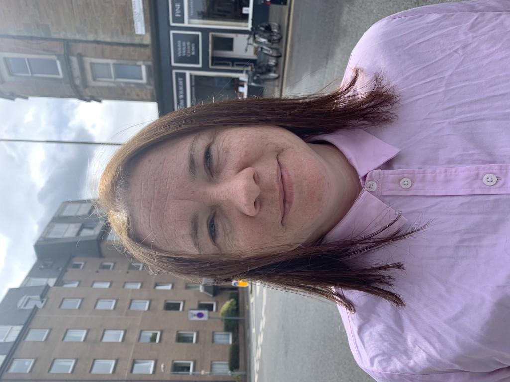 Above: Liane Philips of Marchmont Hardware in Edinburgh.