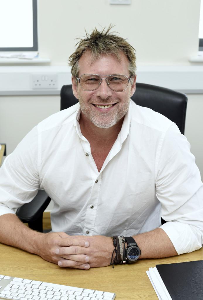 Above: Daniel O'Neill, founder of kitchenware chain ProCook.