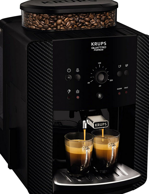 Above: Demand for reburbished coffee machines has grown; Krups is among brands on eBay's Certified Refurbished Hub.