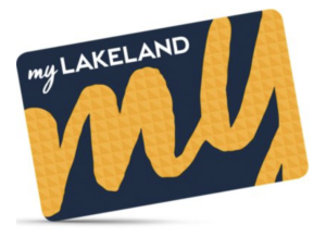 Above: The myLakeland loyaly card.
