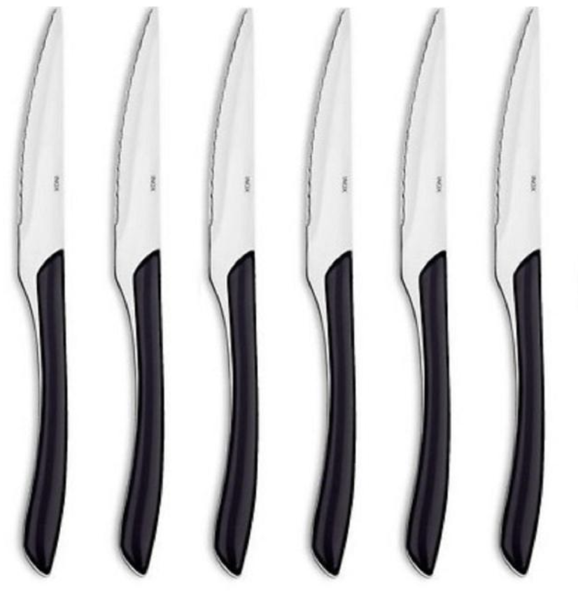Above: Amefa steak knives: new at Ocado.
