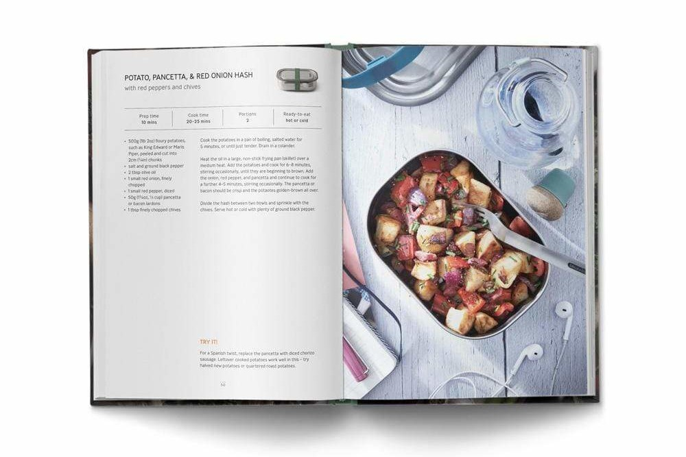 Top: Above: One of the recipes in Let's Do Lunch Box, which is an 82-page hardback published by Dorling Kindersley