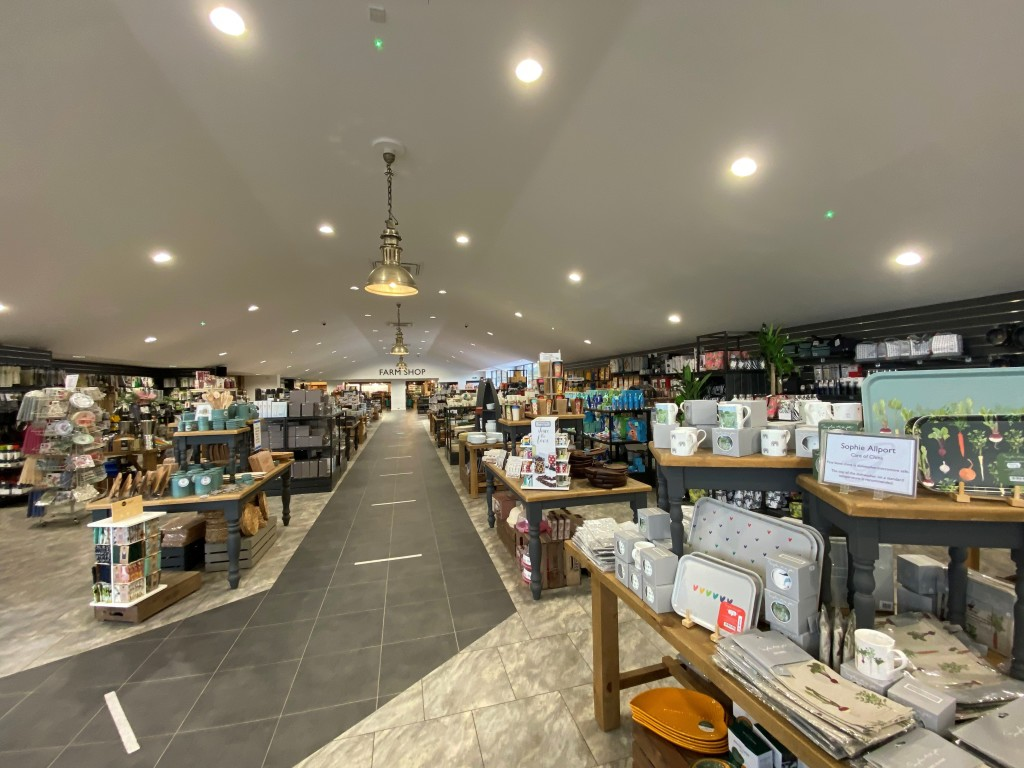 Above: New Cookshop area at Esher.