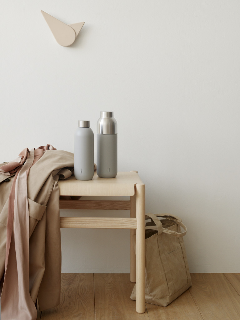Above: Keeping drinks cool or hot with Stelton.