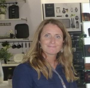 Above: Lifetime Brands' Claire Budgen.