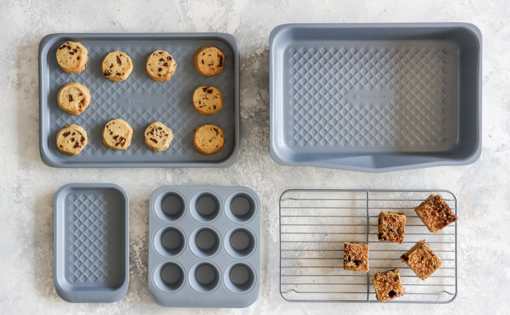 Above: Lifetime Brands has good stock availability thanks to increased investment. MasterClass Smart Ceramic bakeware is pictured.