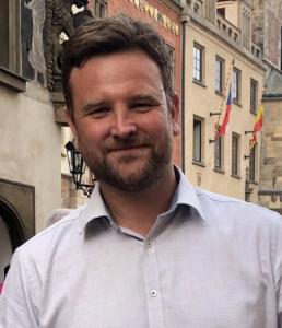 Above: RTA's global sales director, Gareth Till.