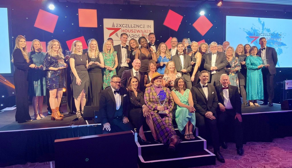 Above: The winners of The Excellence in Housewares Awards 2021